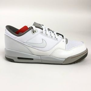 Nike Air Assault Mens White Retro Shoes 316421-112